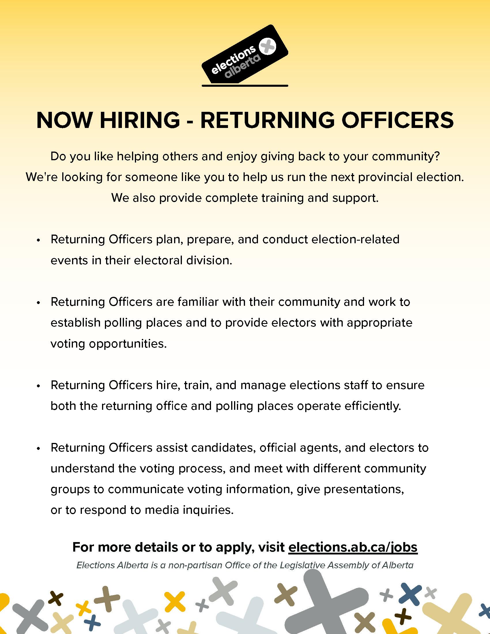 returning officer ad